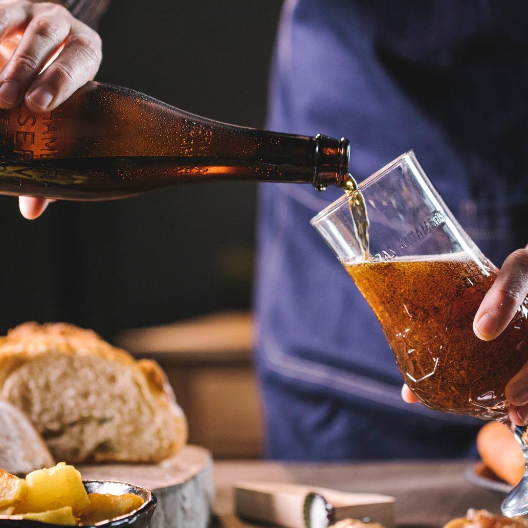 Home economist & food stylist Madrid cervezas Alhambra