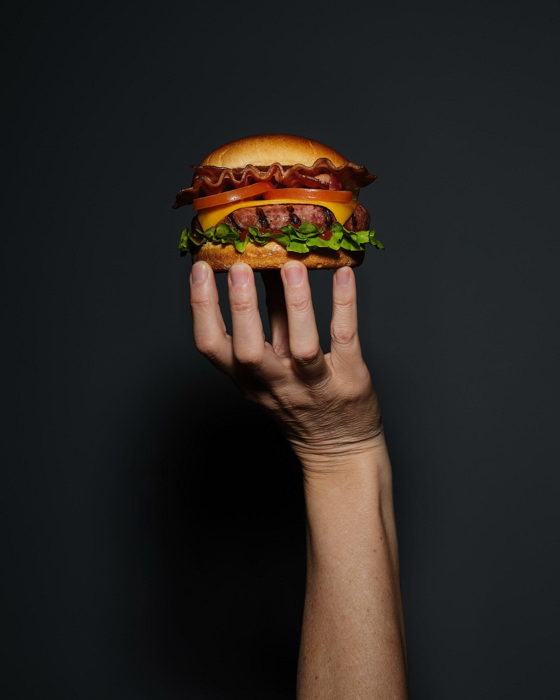 Home economist & food stylist Madrid Burger Foodporn