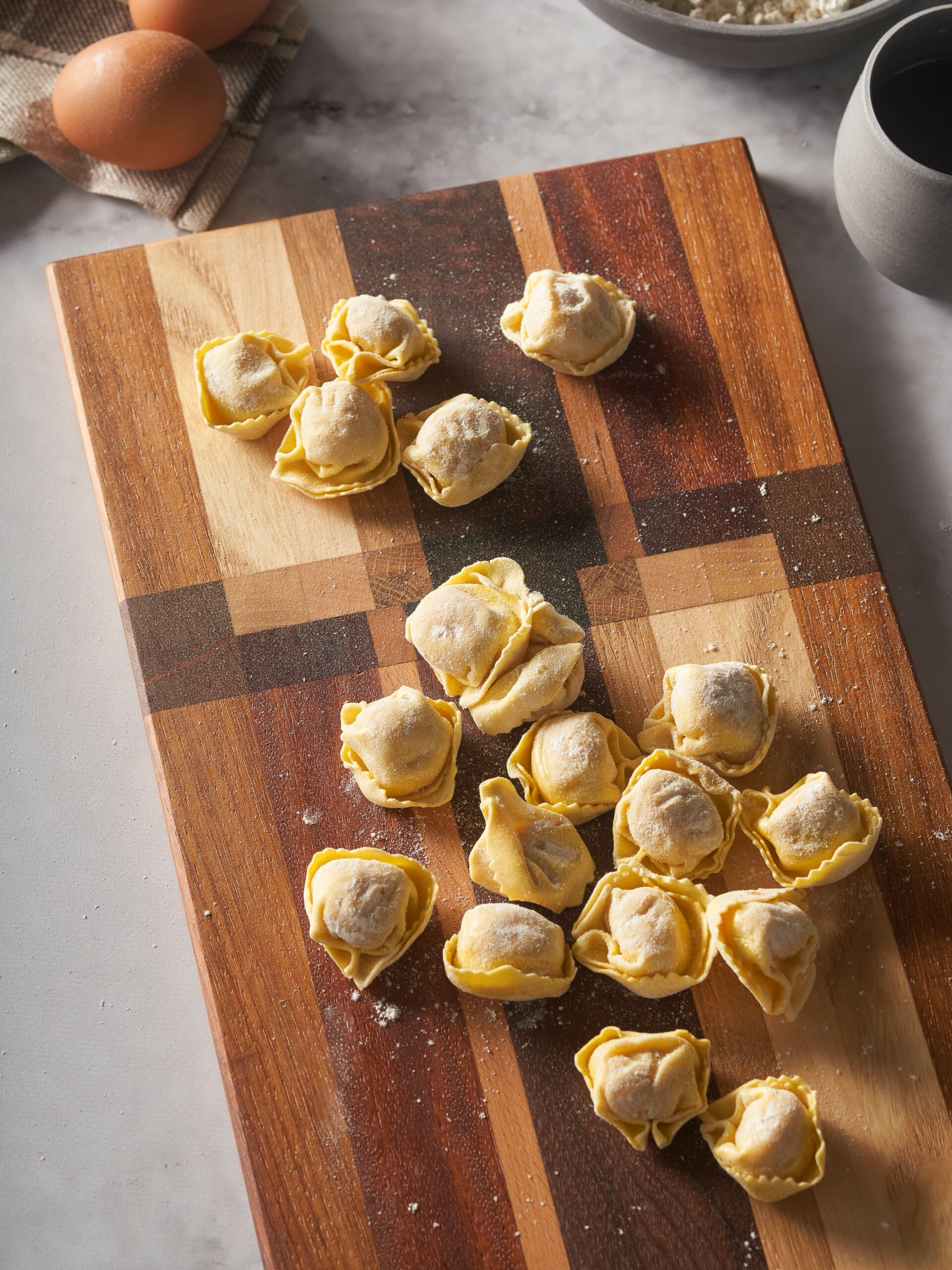 Home economist & food stylist Madrid pasta fresca