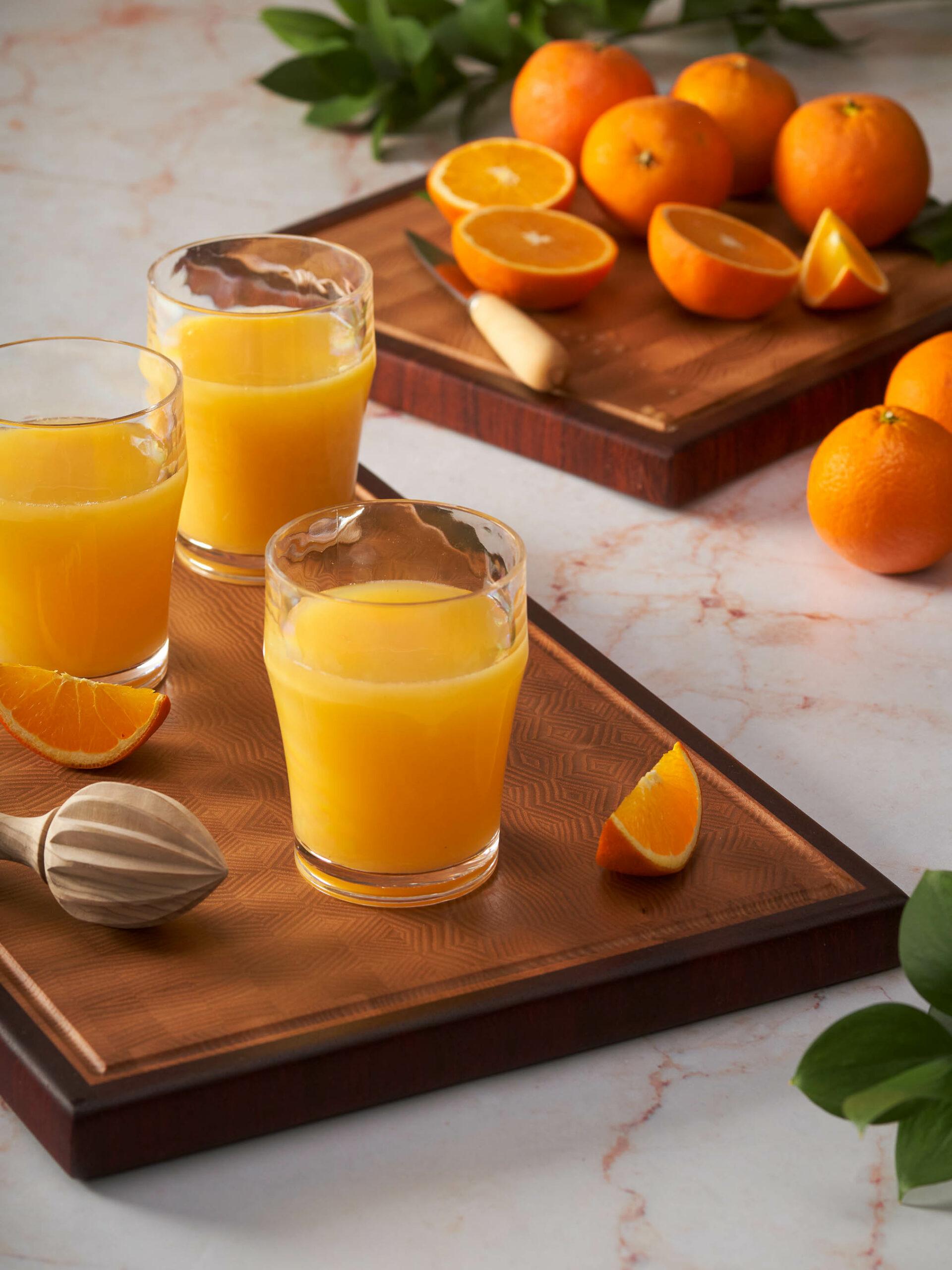 Home economist & food and drink stylist Madrid Zumo de naranja