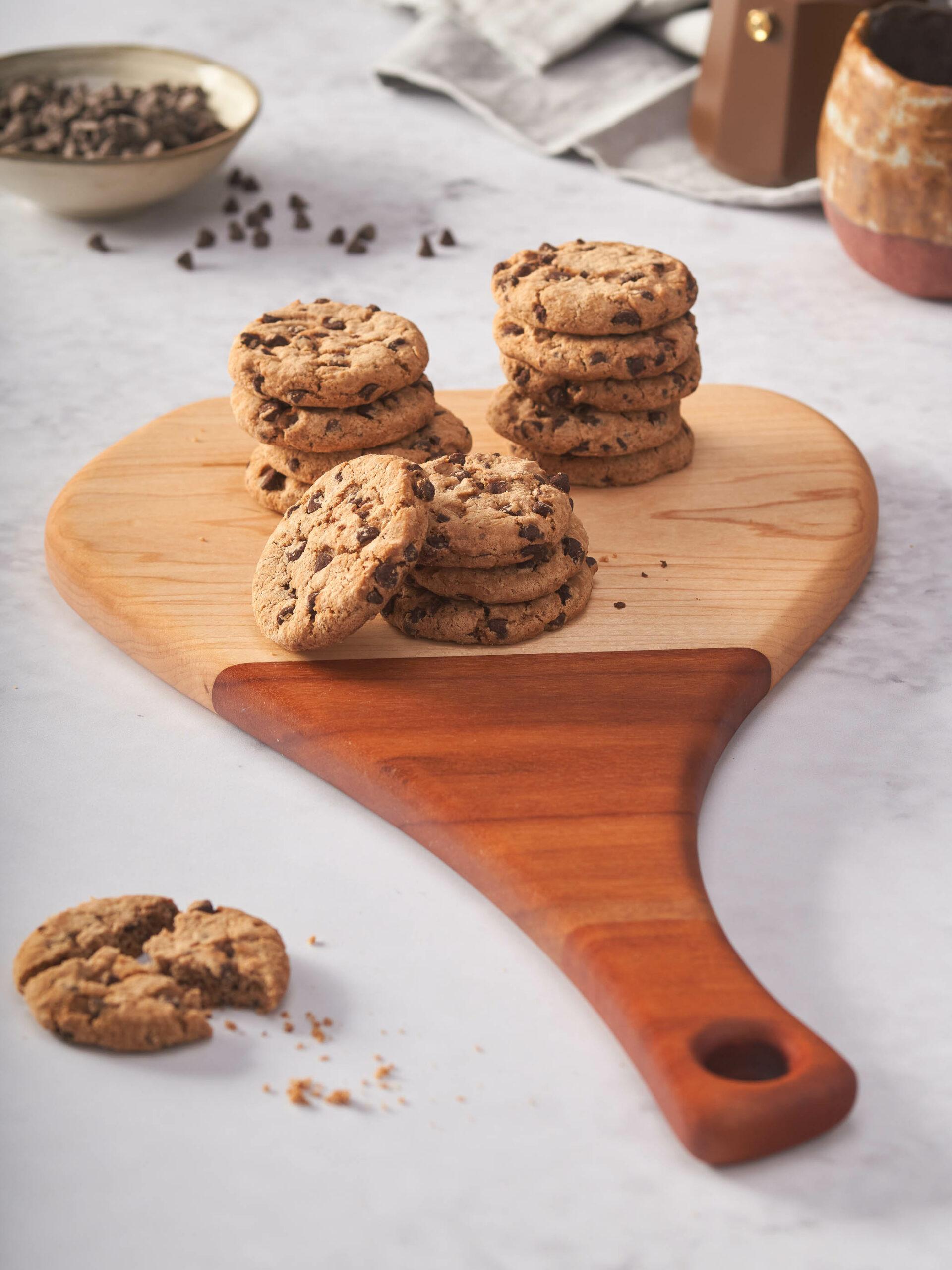 Home economist & food stylist Madrid cookies de chocolate
